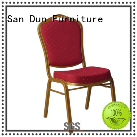 San Dun best upholstered chairs from China for coffee shop