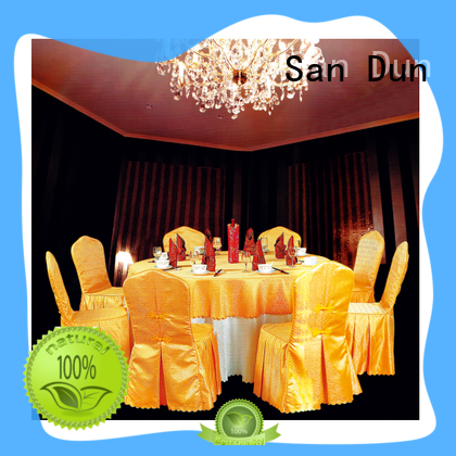 San Dun cheap bulk tablecloths for weddings best supplier bulk production