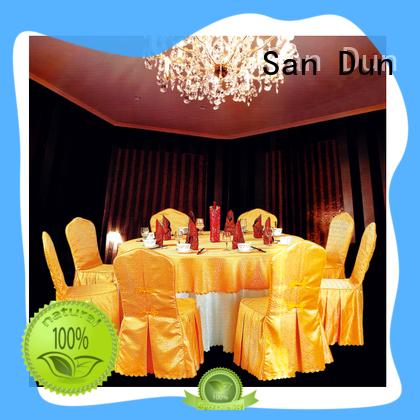 San Dun cheap bulk tablecloths for weddings best supplier bulk production