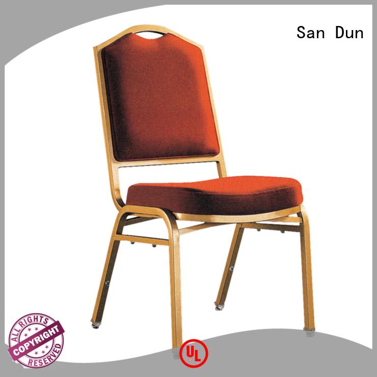 San Dun cheap black steel chairs factory direct supply bulk buy