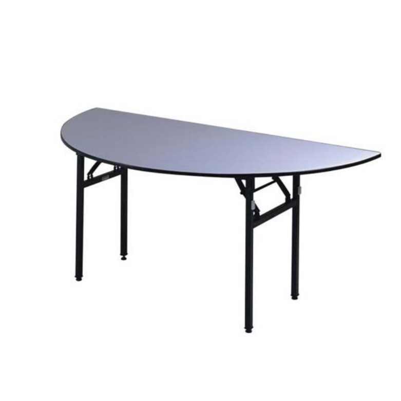 Half-Moon Folding Table For Hotel Banquet Meeting Room YF-004