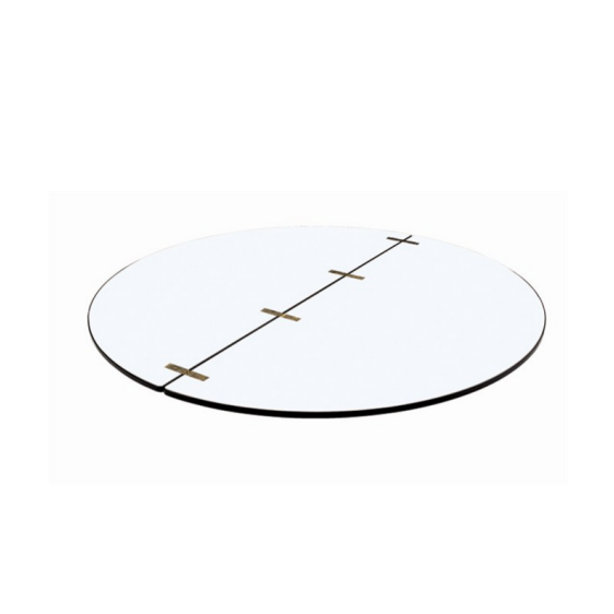 Foldable Round Table Top With Buterfly Galvanised Hinges YF-007