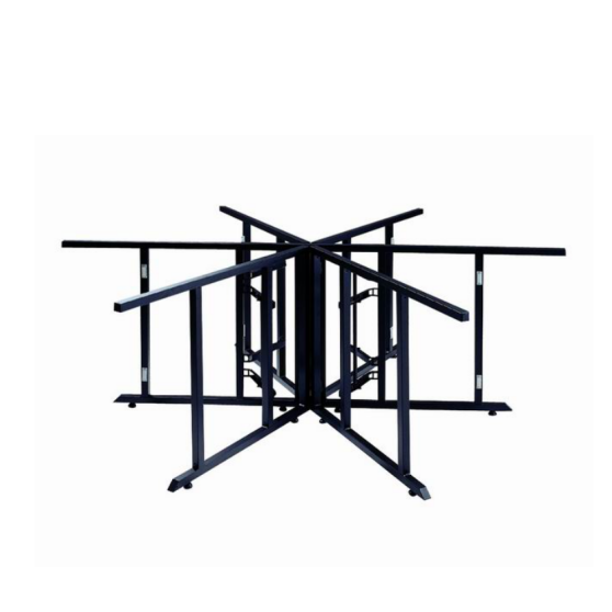 Strong Heavy-duty Design Folding Metal Frame Table Base YF-008