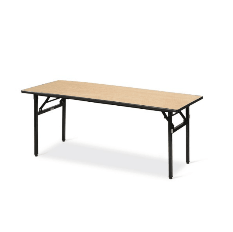 Hot Sale Rectangular Training Table Laminate  Folding IBM Table YF-012