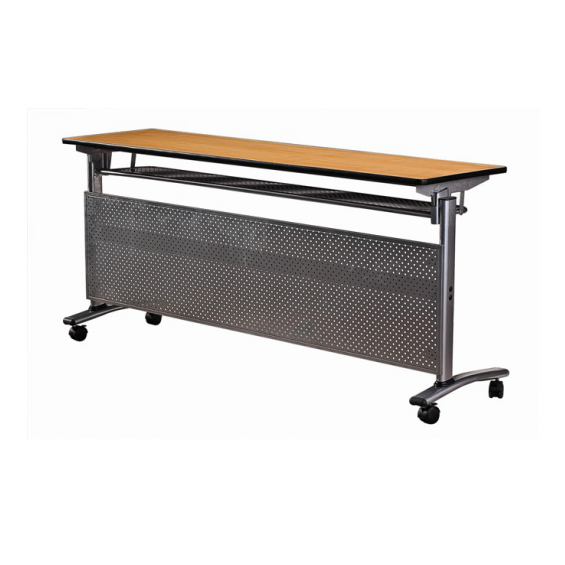 Movable Wheels Design IBM Table Rectangular Folding Table For  Hotel Conference Meeting YF-020