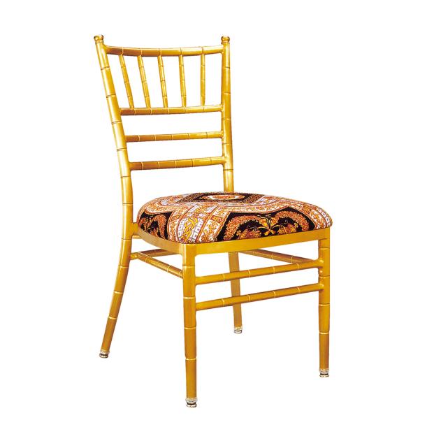 Golden Wedding Aluminum Chiavari Stackable Chair YC-001