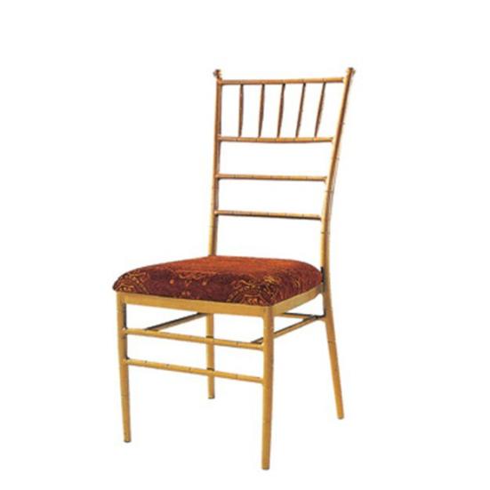 Cheap Iron Wedding Banquet  Tiffany Stack Chair YC-012