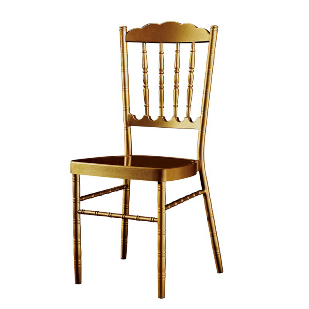 Stackable Wedding Royal Chair Aluminum Chiavari  Chair YC-016