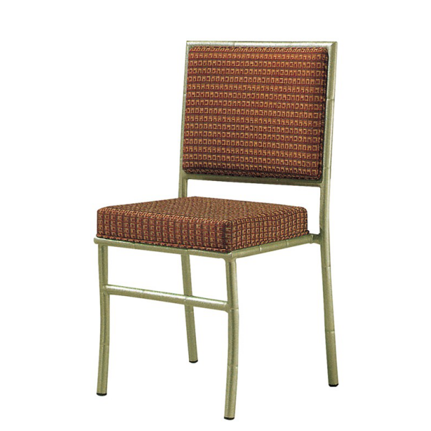 Upholstered Hospitality Event Aluminum Stackable Chivalry Chair YC-017