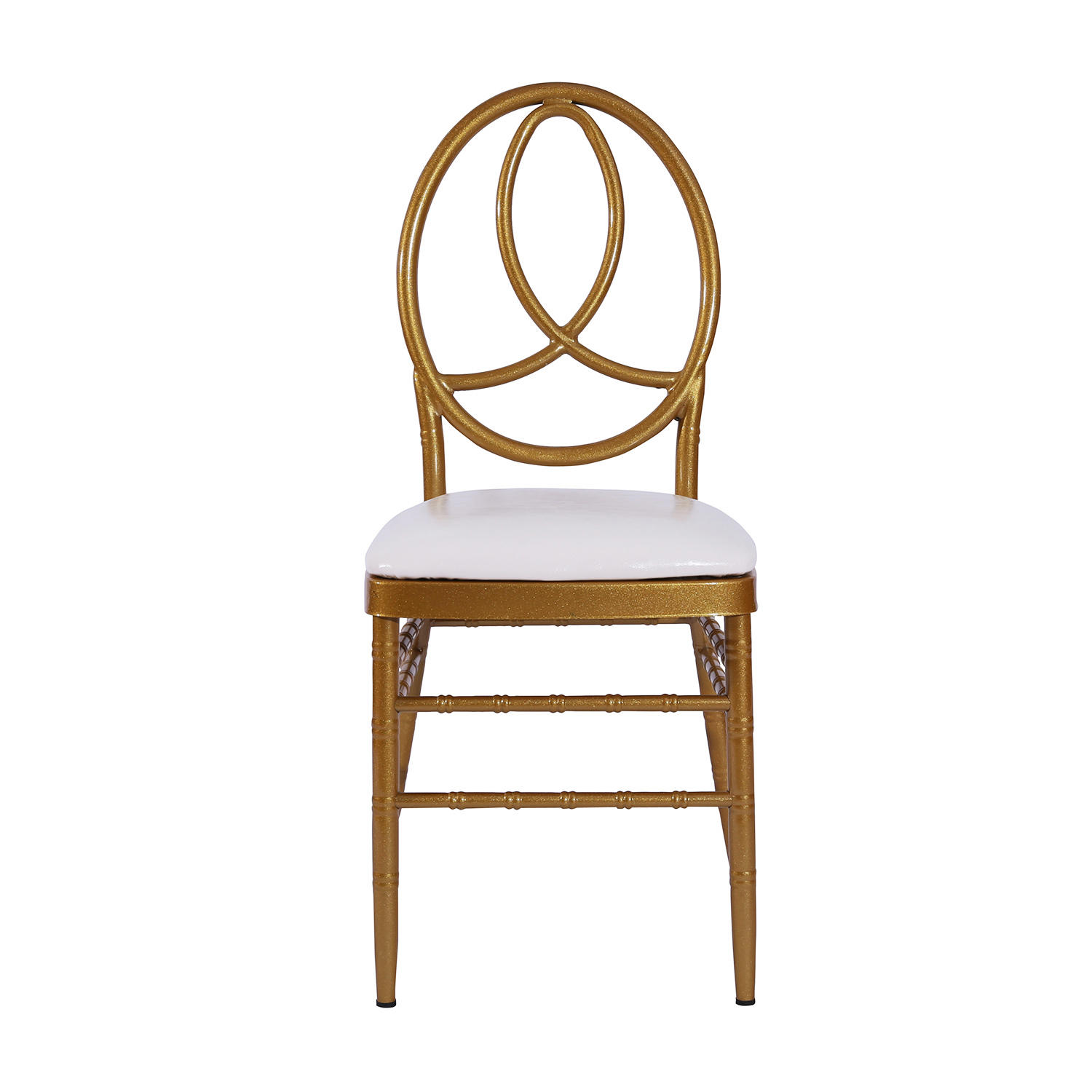 Cheap Gold Painting Steel Hotel Banquet Wedding Phoenix Chair YC-022