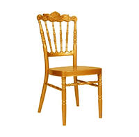 Hot Sale Golden Event Rental Napoleon Chair YC-025