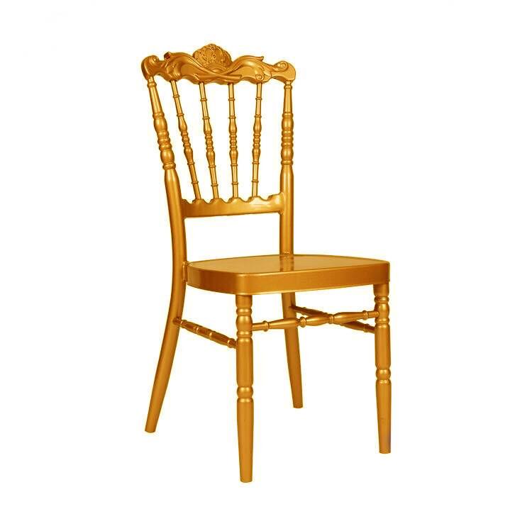 Hot Sale Golden Event Rental Napoleon Chair YC-025