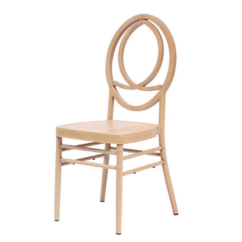 Wholesale Rental Wood Veneer Metal Hotel Banquet Wedding Phoenix Chair YC-027