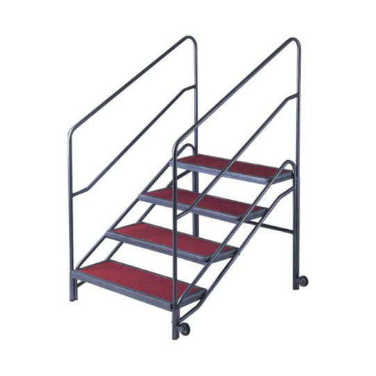 Detechable Handrail Red Carpet Stage Steprise T-004