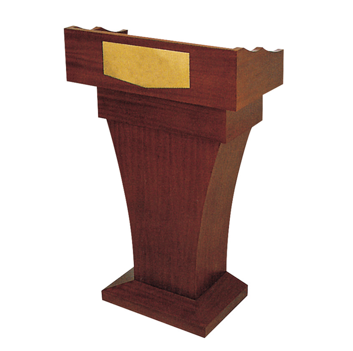 Hotel Banquet Conference Meeting Room Wooden Rostrum -A