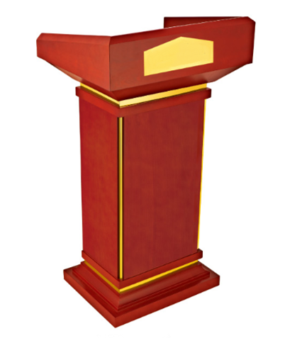 Meeting Room Wooden Rostrum-E