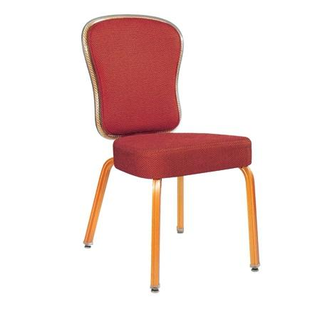 Fashion Design Hotel Meeting Room Rocking Back Aluminum Stackable Chair YB-002