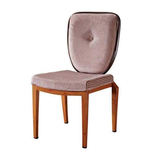 Square Seat Restaurant Metal Flexible Back Chair YB-019