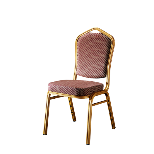 Hot Sale Restaurant Hotel Aluminum Chair Stacking  Chair YD-004