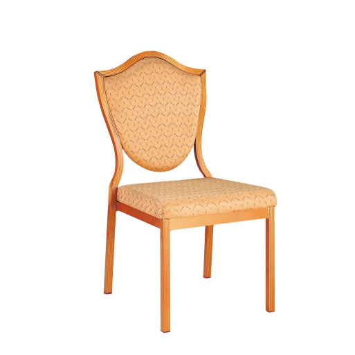 Hotel Wedding Chair Aluminum Stacking Chair YD-006