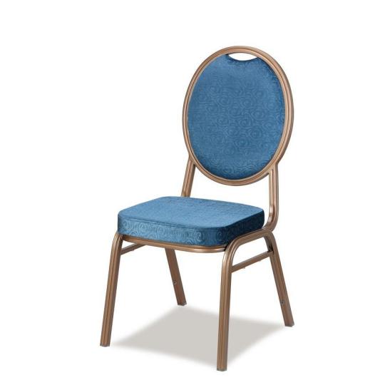 Elegant Design Aluminum Armrest Upholstered Stackable Banquet Meeting ChairYD-012