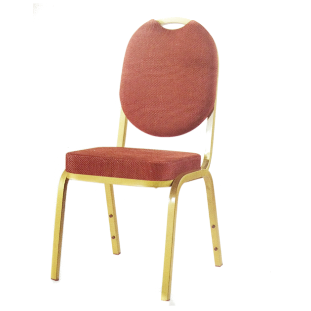 Hospitality Chair Hotel Upholstered Iron Chair YE-007