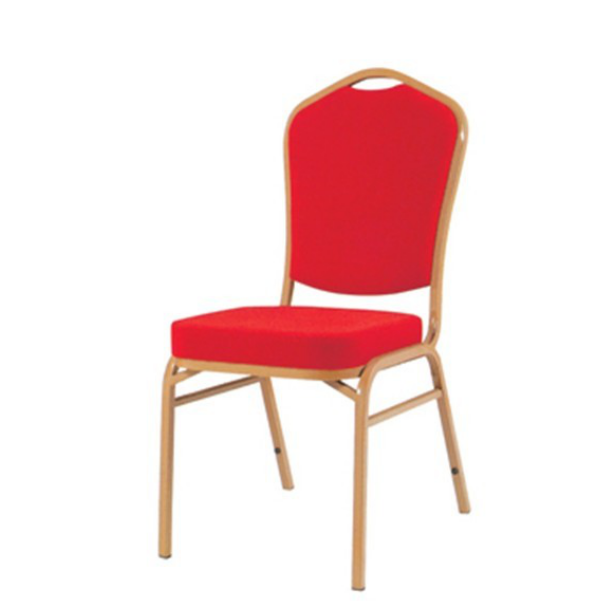 Square Back Hotel Meeting Iron Stackable Chair YE-008