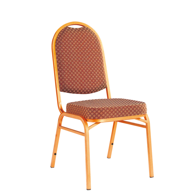 Banquet Upholstered Iron Stack Chair YE-009