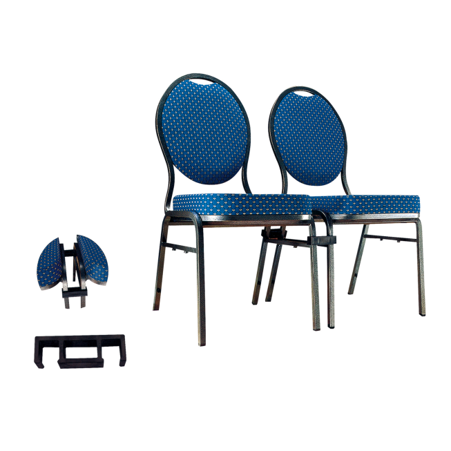 Steel Stackable Chair For Hospitality Banquet YE-014