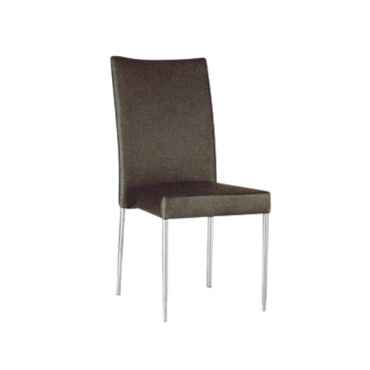 Restaurant Wedding Black  PU Leather Iron Stacking Chair  YE-023