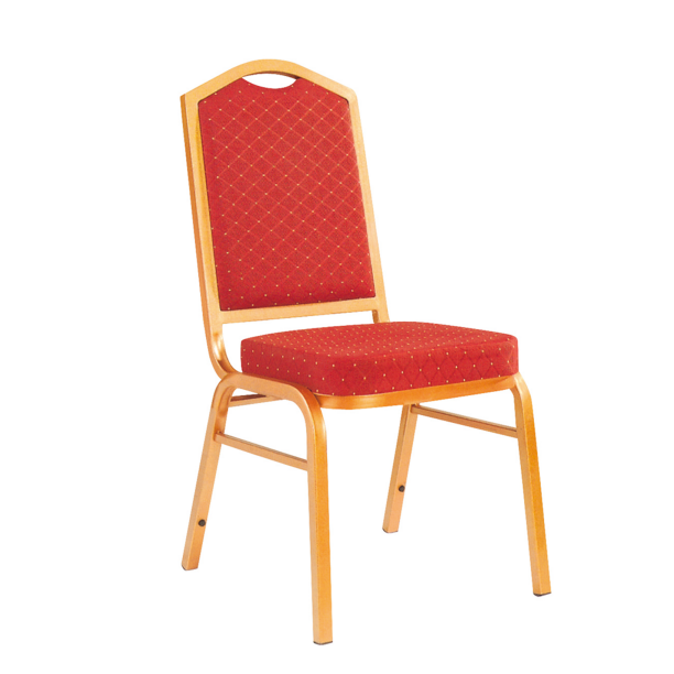 Hospitality Iron Chair Wedding Stack Chair YE-024
