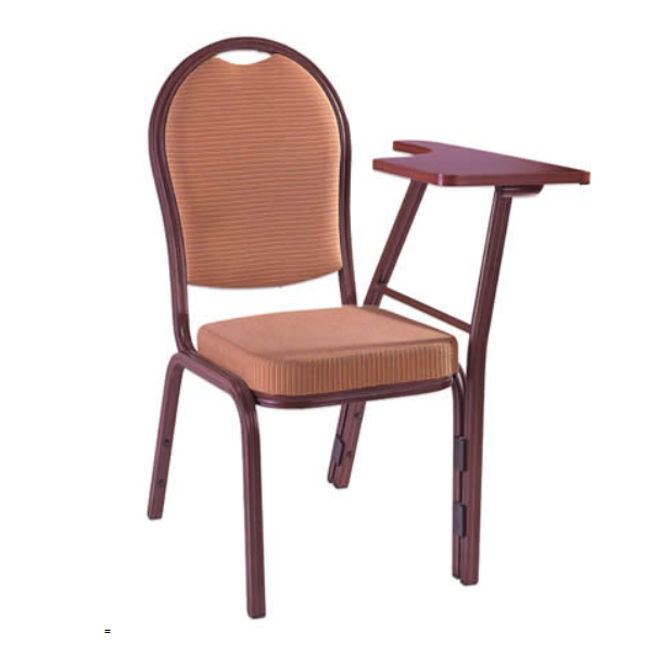 Hotel Banquet Iron Stacking Chair With Tablet YE-026A