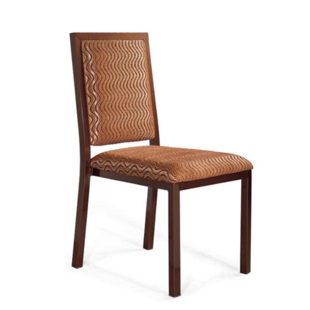 Steel Imitation Wood Stacking Chair YE-033