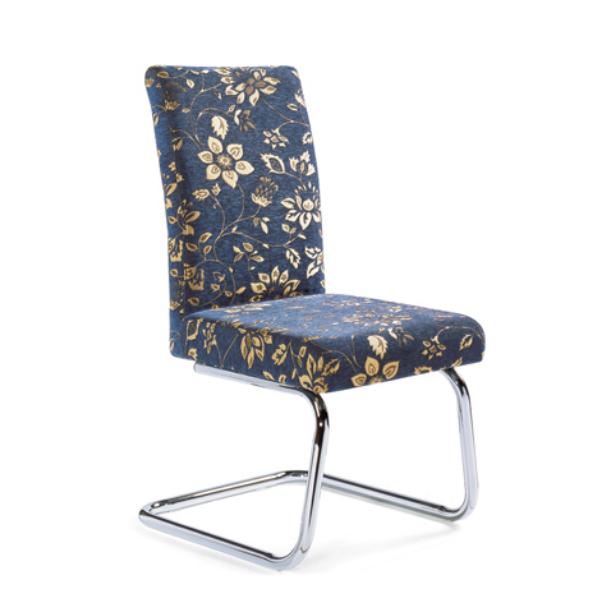 Silver Oil Painting Meeting Room Steel Chair YE-035
