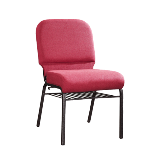 Hospitality Church Chair Metal Steel Stacking Chair  YE-040