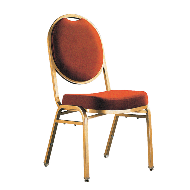 Europe Market Round Back Metal Stacking Chair YE-045