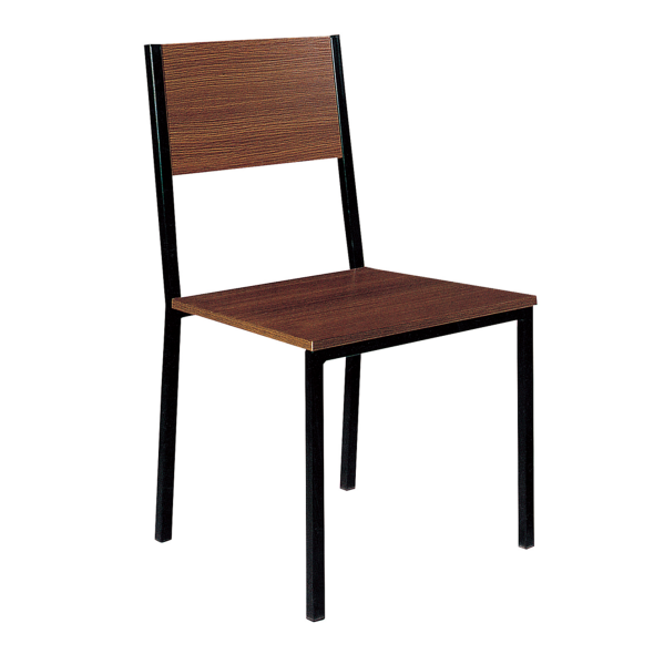 Cheap Cafe Wood Seat Steel Chair YE-052