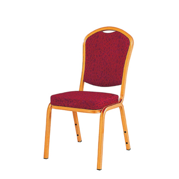 Event Stack Chair Hospitality Aluminum Golden Chair YD-027