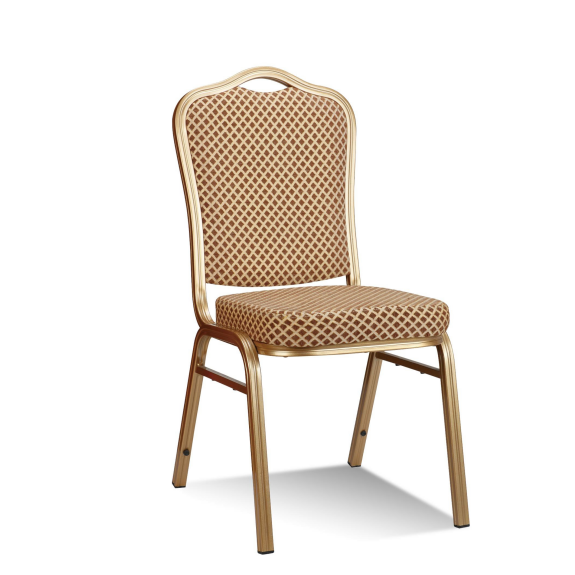 Hotel Dining Room Stacking Aluminum Chair YD-035