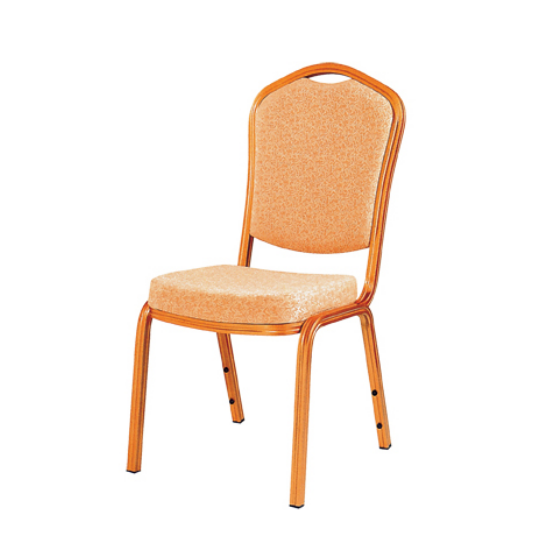 Cafe Aluminum Chair Stacking Velvet Chair YD-036
