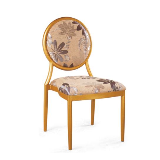 Event Restaurant Chair Golden Aluminum Chair YD-051