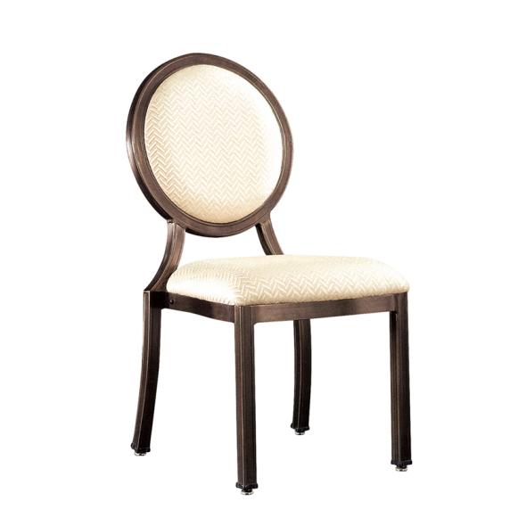 Round Restaurant Ballroom Chair Alumium Stacking Chair YD-052