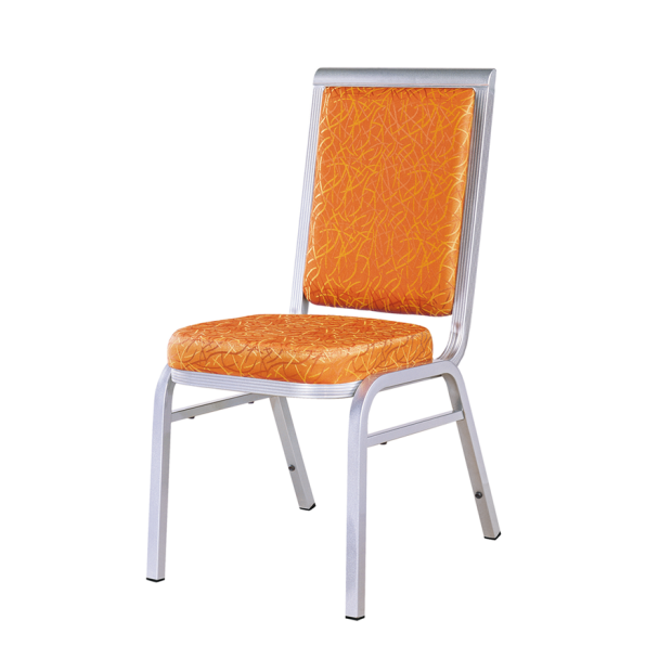 Silver Painting Office Meeting Aluminum Stacking Chair YD-054