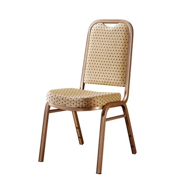 Unique Comfortable Seat Restaurant Reception Chair Aluminum Stack Chair YD-055