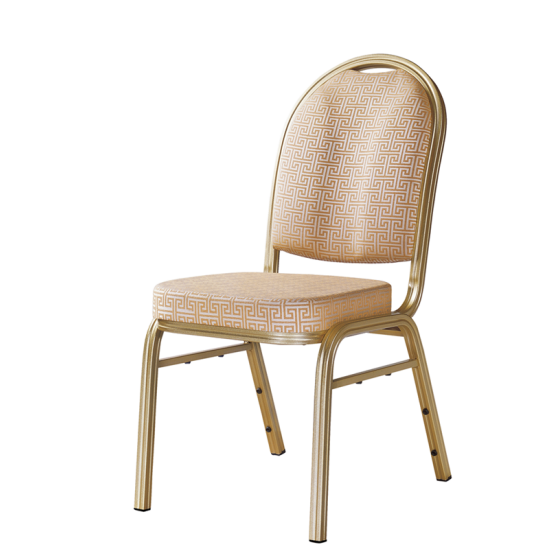 Concave Back Design School Meeting Room Aluminum Stack Chair YD-056