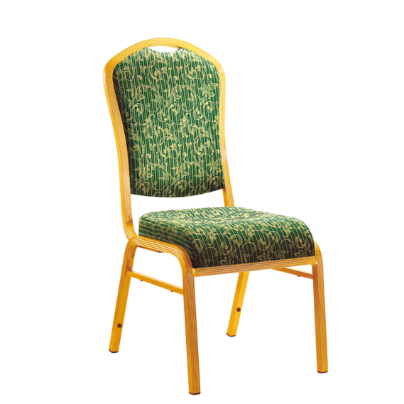 Party Meeting Golden Chair Aluminum Stackable Chair YD-062