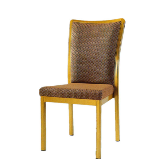 Wedding Event Chair Alumium Upholstered Stack Chair YD-068