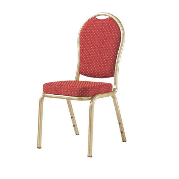 Wedding Ballroom Aluminum Alloy Chair Stackable Metal Chair YD-069