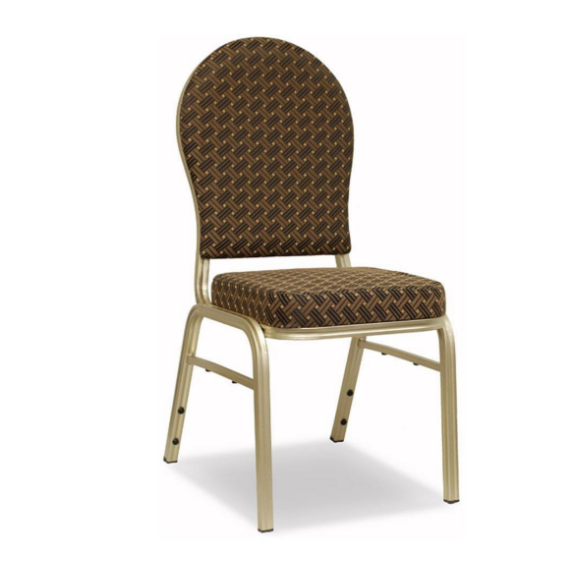 Wedding Office Aluminum Stacking Chair YD-071