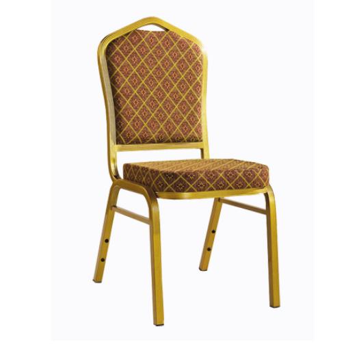 Cross-back Design Aluminum Wedding Church Chair YD-076